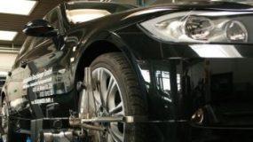 3D-Fahrwerksvermessung für Ihren BMW.